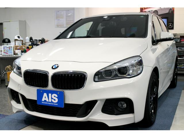 BMW 218dアクティブツアラー Mスポーツ 黒レザーシート コンフォートPKG パーキングサポートPKG インテリジェントセーフ シートヒーター パワーバックドア コンフォートアクセス フルセグTV 障害物センサー バックカメラ LED ETC
