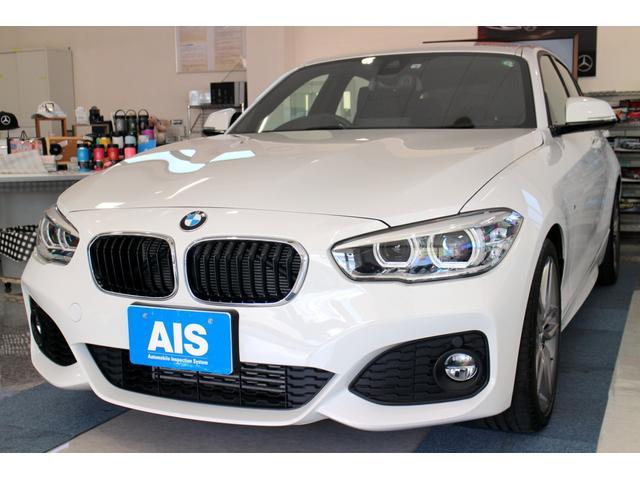 BMW 118i Mスポーツ ファストトラックPKG インテリジェントセーフティ(前車接近警告機能・衝突回避・被害軽減ブレーキ) 車線逸脱警告 18インチAW Mブレーキ クルーズコントロール LEDヘッドライト キーレス ETC