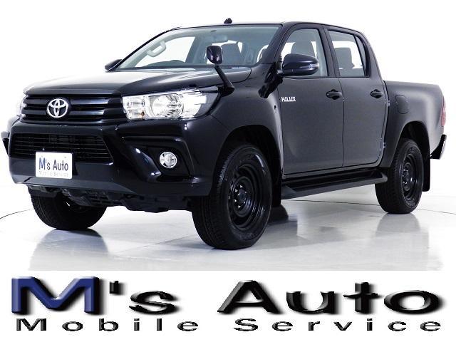 トヨタ 2.4D X ダブルキャブ 4WD 改良後