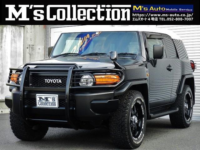 トヨタ FJクルーザー ブラックカラーパッケージ 4X4 グリル&テールガード 20AW