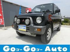 パジェロミニアイアンクロスV 4WD ターボ MT車 Tベル交換済