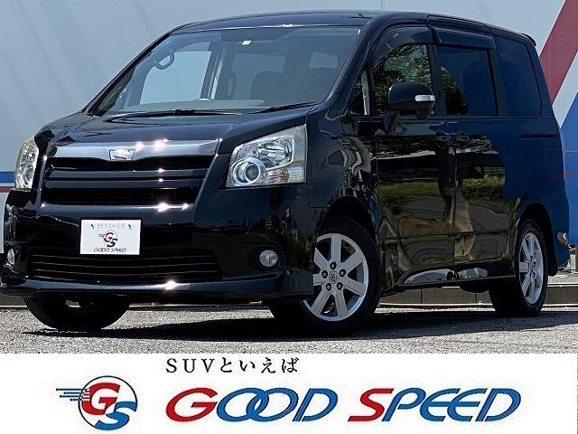 トヨタ ノア Si HDDナビ バックカメラ 両側電動スライド スマートキー HIDヘッド パドルシフト フォグランプ