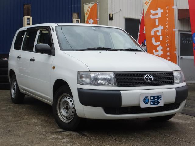 トヨタ プロボックスバン DX ETC・1300CC・ガソリン・無料1年保証