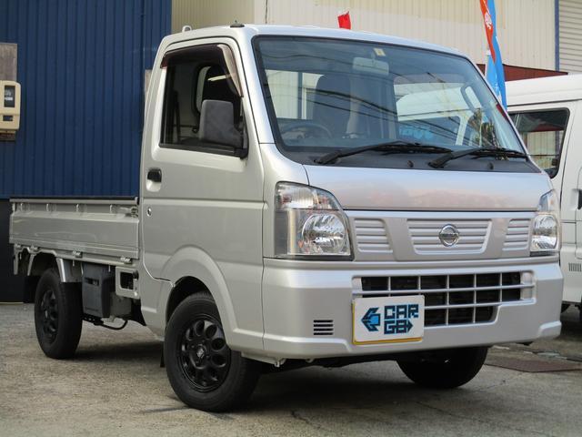 日産 DX ETC・三方開・シルキーシルバー・無料1年保証付