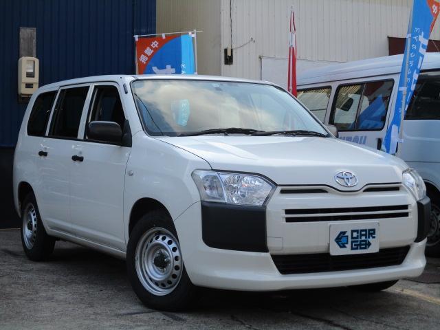 トヨタ プロボックス DXコンフォート キーレス・ドラレコ・ETC・リアフラット・無料1年保証付