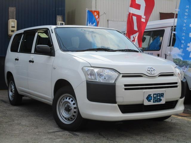 トヨタ プロボックス DXコンフォート 4WD・Bluetooth対応SDナビ・Bカメラ・ETC・キーレス・リアフラットシート