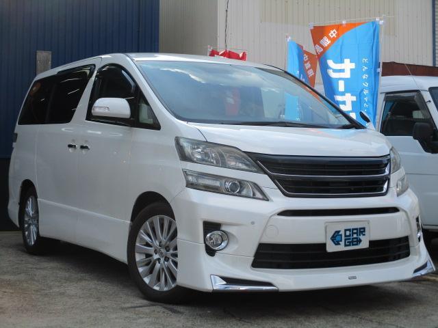トヨタ 3.5Z モデリスタ・両側電動Sドア・Wモニター・Bluetooth対応SDナビ・バックカメラ・ETC・コーナーセンサ・PUSHスタート・スマートキー・オットマン