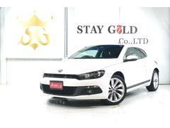 VW シロッコ2.0TSI  黒革シート 純正ナビ TV  ETC