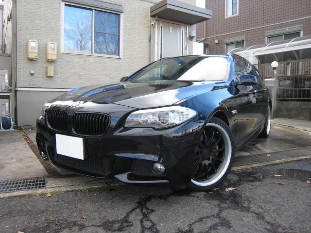 BMW 523iツーリング Mスポーツパッケージ 黒革 20AW