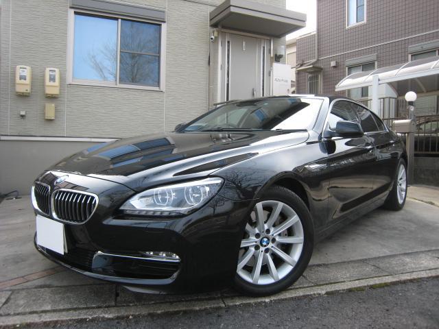 BMW 640iグランクーペ 黒革 純正HDDナビ 地デジ Bカメラ