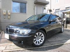 BMW750i ミッション交換済 法人1オーナー 左ハンドル 黒革