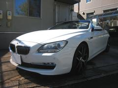 BMW640iカブリオレ ブラウン革 WALD20AW 地デジ