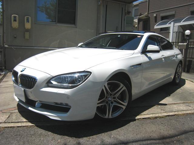 BMW 640iグランクーペ ACC 19AW 安全装備 買取車