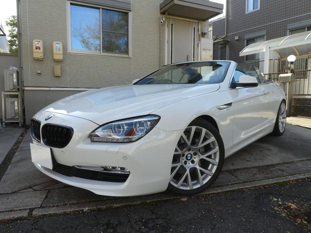 BMW 640iカブリオレ LEDヘッド 20AW 車高調 4本出