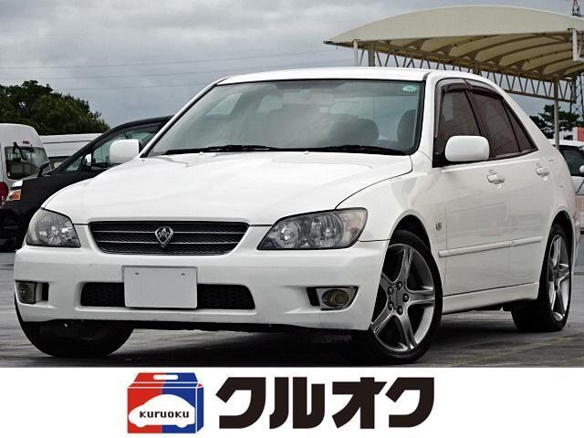 トヨタ アルテッツァ RS200 リミテッドII ダッシュボードレストア済み 6速MT Tベルト交換済 キセノンヘッドライト キーレス ETC CDプレーヤー