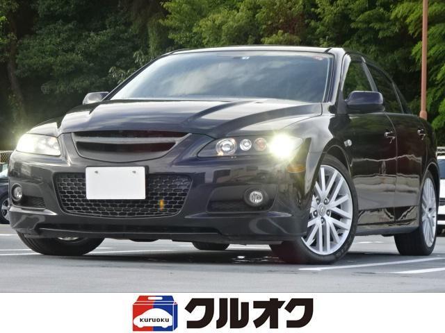 マツダ ベースグレード 6速MT 4WD ターボ オートエクゼサスペンション オートエクゼマフラー サンルーフ HDDナビ DVD再生機能付 HIDヘッドライト ETC 純正18インチアルミホイール