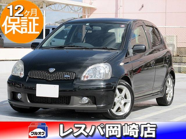 トヨタ ヴィッツ RS ターボ 5MT キーレスキー CD/DVD再生 ABS