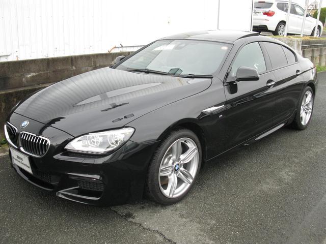 BMW 640iグランクーペMスポハイライン最長4年保証黒レザーS