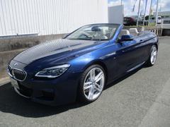 BMW640iカブリオレ Mスポーツ ACC HUD 白レザー