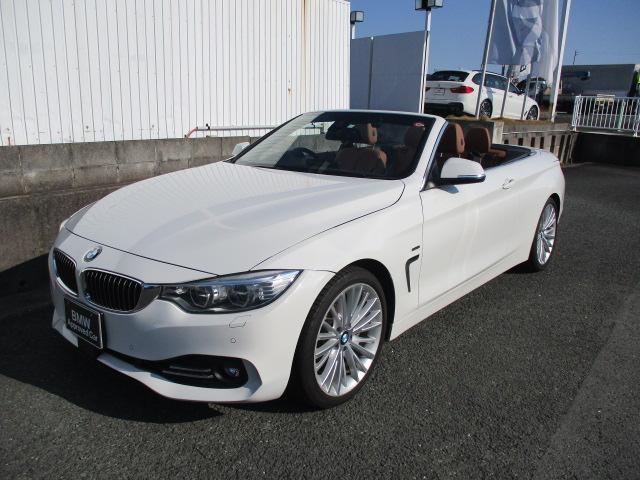 BMW 435iカブリオレ ラグジュアリー ACC付 HUD付