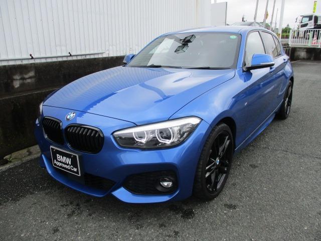 BMW 1シリーズ 118i Mスポーツ エディションシャドー 純正HDDナビ LEDヘッドライト バックカメラ ブラックレザー シートヒーター パークアシスト アイドリングストップ ETC