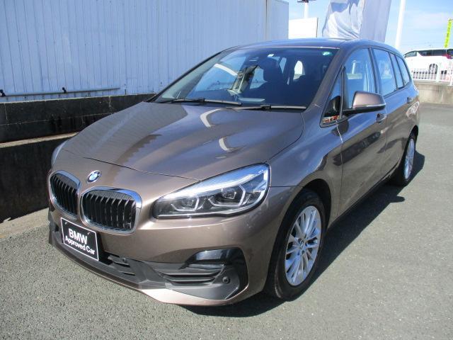 2シリーズ(BMW) 218dグランツアラー 純正HDDナビ バックカメラ クリアランスソナー LEDヘッドライト 中古車画像