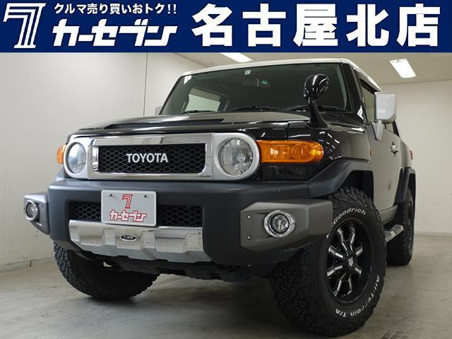 トヨタ カラーパッケージ 社外足回り/JAOSバンパー/クルーズコントロール/純正ナビTV/バックカメラ/4WD/ツートンルーフ