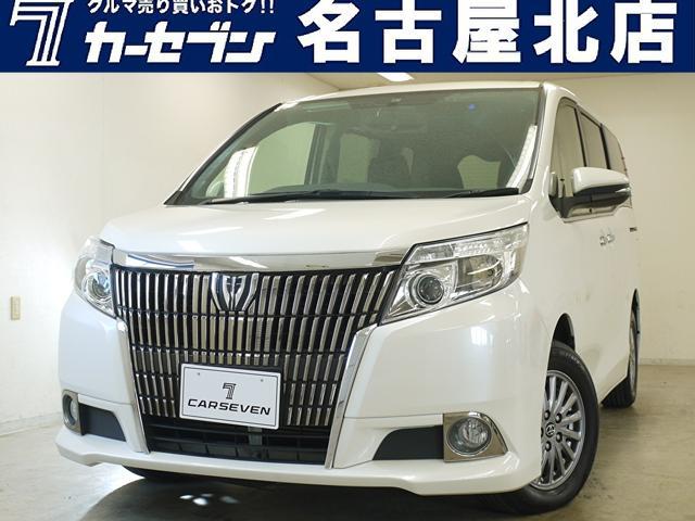 トヨタ エスクァイア Xi ユーザー買取/両側パワースライドドア/7人乗り/ALPINEモニター/Bluetooth/ナビ/フルセグ/バックカメラ