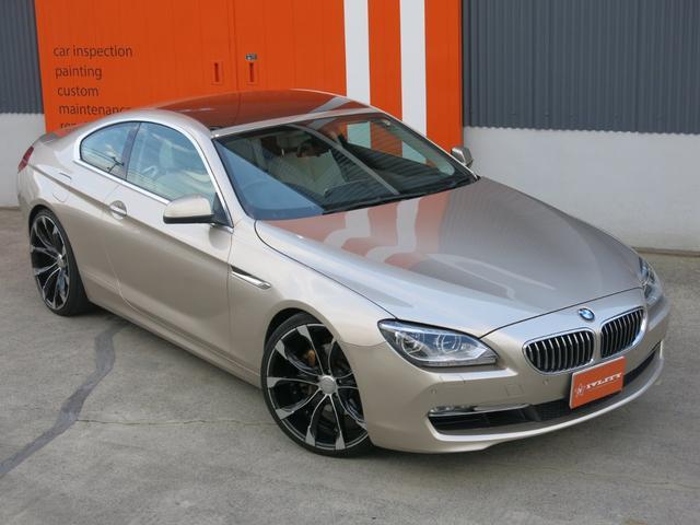 BMW WALDアルミ 640iクーペ1年距離無制限保証サンルーフ