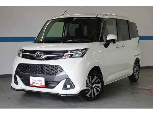 トヨタ カスタムG サポカー・試乗車・禁煙車・SDナビ・LEDライト・Bluetooth