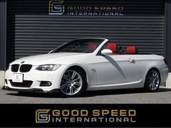 BMW335iカブリオレ Mスポーツ 赤革 純正HDDTV 7AT