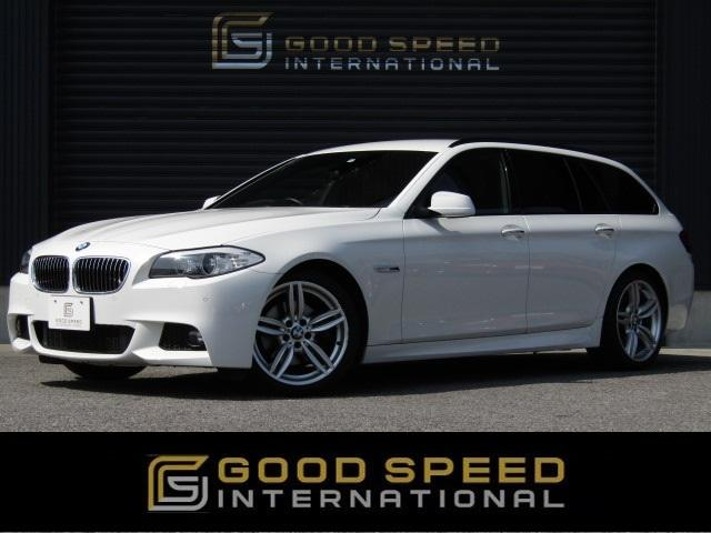BMW 528iツーリング MスポーツPKG 黒革 OP19inAW