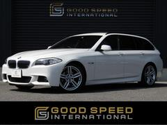 BMW528iツーリング MスポーツPKG 黒革 OP19inAW