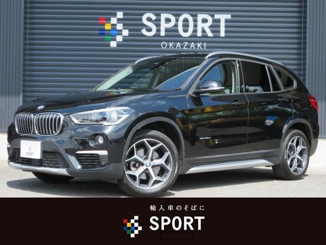 BMW xDrive 18d xライン 純正ナビ Bカメ ハーフレザ