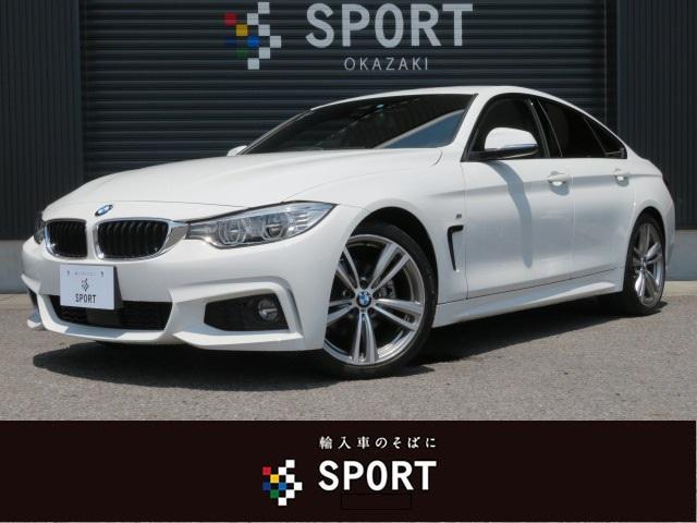 BMW 420iグランクーペ Mスポーツ 純正ナビ ACC 1オーナ