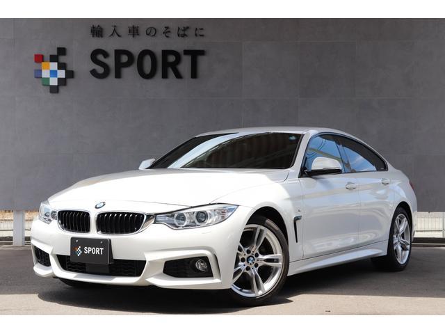 BMW 420iグランクーペ Mスポーツ 純正HDDナビ Bカメラ