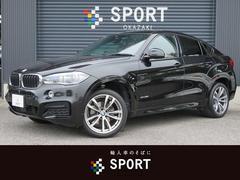 BMW X6xDrive 35i Mスポーツ サンルーフ 純正ナビ 茶革