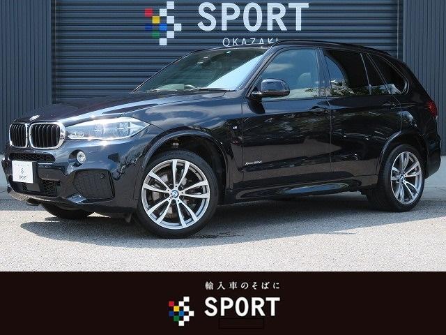 BMW xDrive 35d Mスポーツ サンルーフ 黒革 ACC