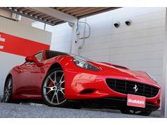 フェラーリ カリフォルニアF1 本革電動シート LEDカーボンステアリング リアカメラ