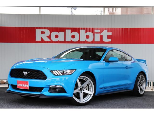 フォード マスタング  20インチAW/Bluetooth/バックカメラ//フロントリップ/グラバーブルー/LBダックテール/当店直接買取/エンジンスターター