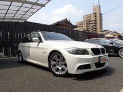 BMW325iツーリング Mスポーツパッケージ 黒革 HDDナビ