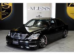 レクサス LS430黒革 サンルーフ 車高調 リバーサイド20インチ
