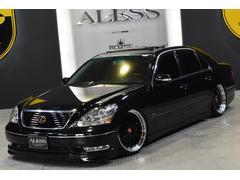 レクサス LS4302006年最終モデル 車高調20インチAW 黒革サンルーフ