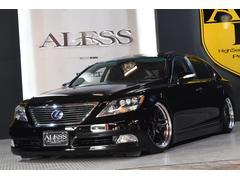 レクサス LS460LLS460L 左ハン 黒革 SR 車高調 新品WORK20