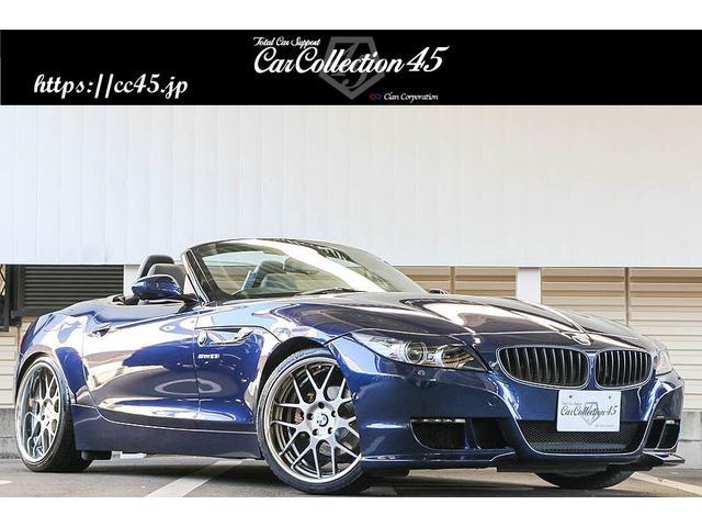 BMW sDrive23i ハイラインパッケージ ハーマンフロントエアロバンパー トランクスポイラー 3Dデザイン車高調 SSR19インチホイール LEDデイライト インターフェイス装着 バックカメラ 黒革シート シートヒーター 純正HDDナビ
