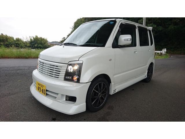 マツダ AZワゴン 4WD フルエアロ LED タイヤ新品
