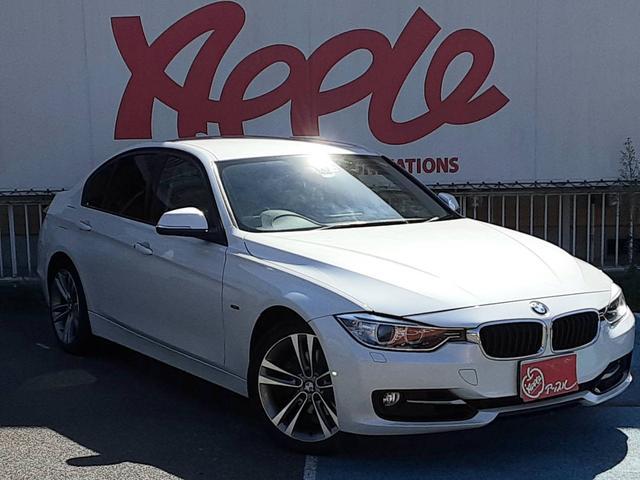 BMW 320i スポーツ ユーザー買取車 純正HDDナビ バックカメラ パワーシート クルーズコントロール アイドリングストップ HIDヘッドライト ミュージックサーバー スマートキー&プッシュスタート パドルシフト ETC