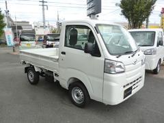 ハイゼットトラックスタンダード 5MT 2WD  登録済み未使用車