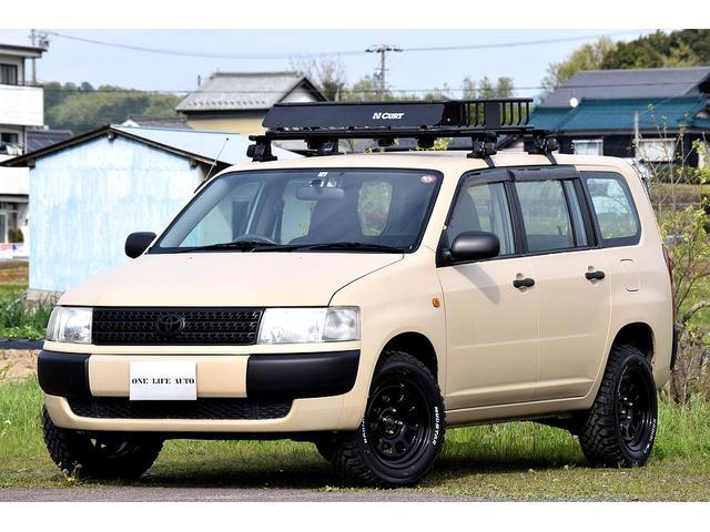 トヨタ DXコンフォートパッケージ リフトアップ 新品マッドタイヤ&ホイル 新品ルーフラック 地デジナビ ETC