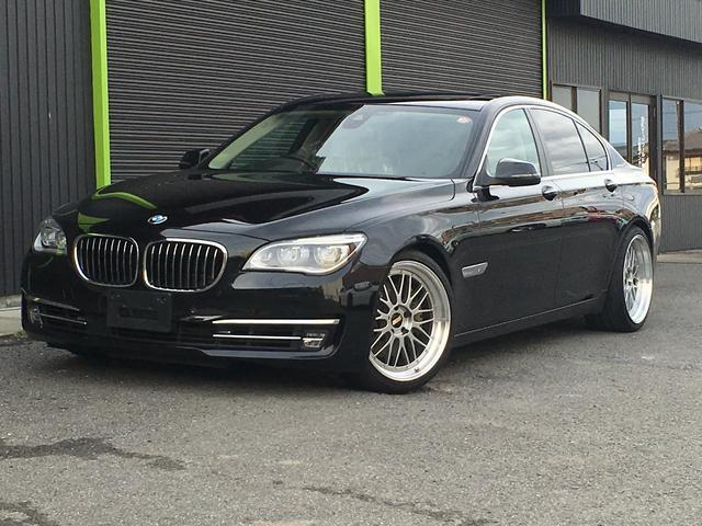 BMW アクティブハイブリッド7 H&R足回り LM20インチAW